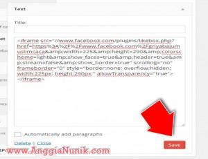 cara-memasang-fanpage-di-wordpress