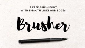 jenis huruf hand lettering download gratis