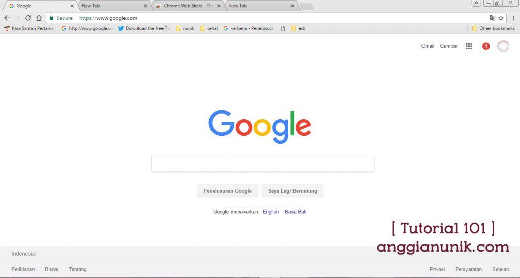 Cara Menggunakan Theme Pada Browser Google Chrome