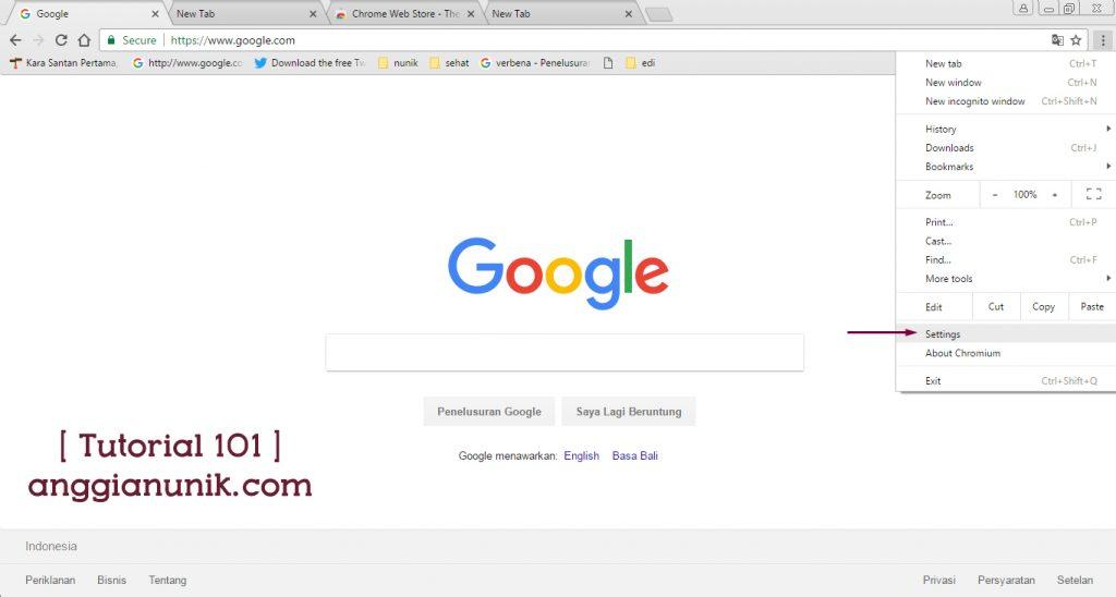 Cara Mengganti Theme Pada Browser Google Chrome